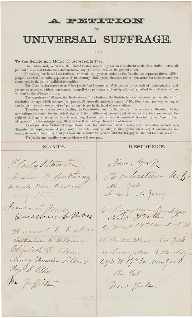 Universal Suffrage | National Archives