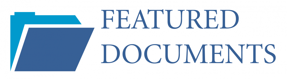 Featured Documents