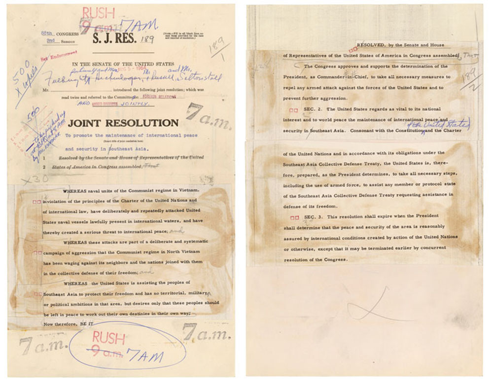 Congress The President And The War Powers National Archives