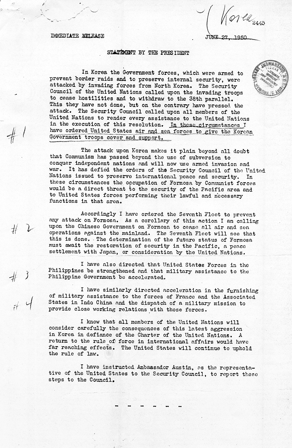 Congress, the President, and the War Powers  National Archives Within Powers Of Congress Worksheet
