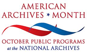 American Archives Month logo