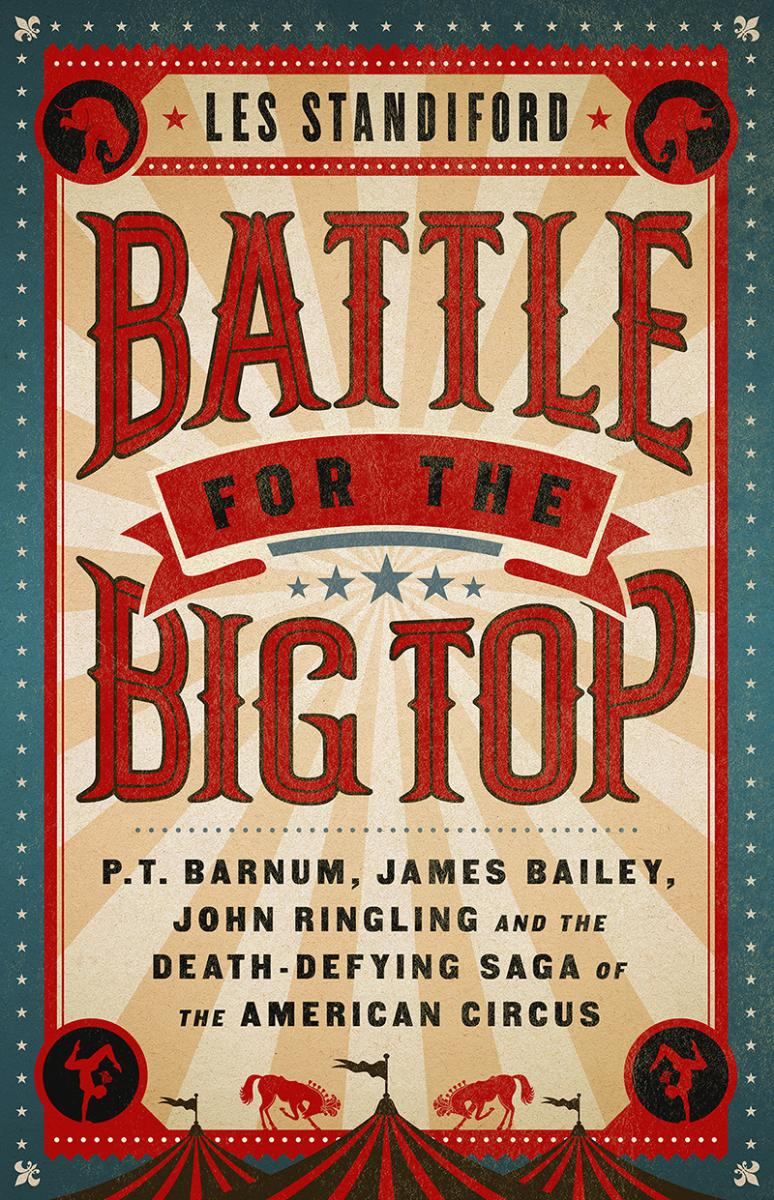 Book cover of Battle for the Big Top