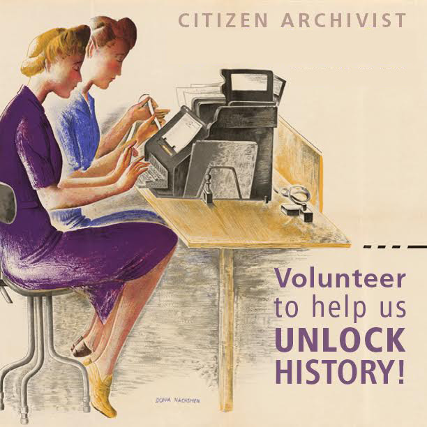 Citizen Archivist poster