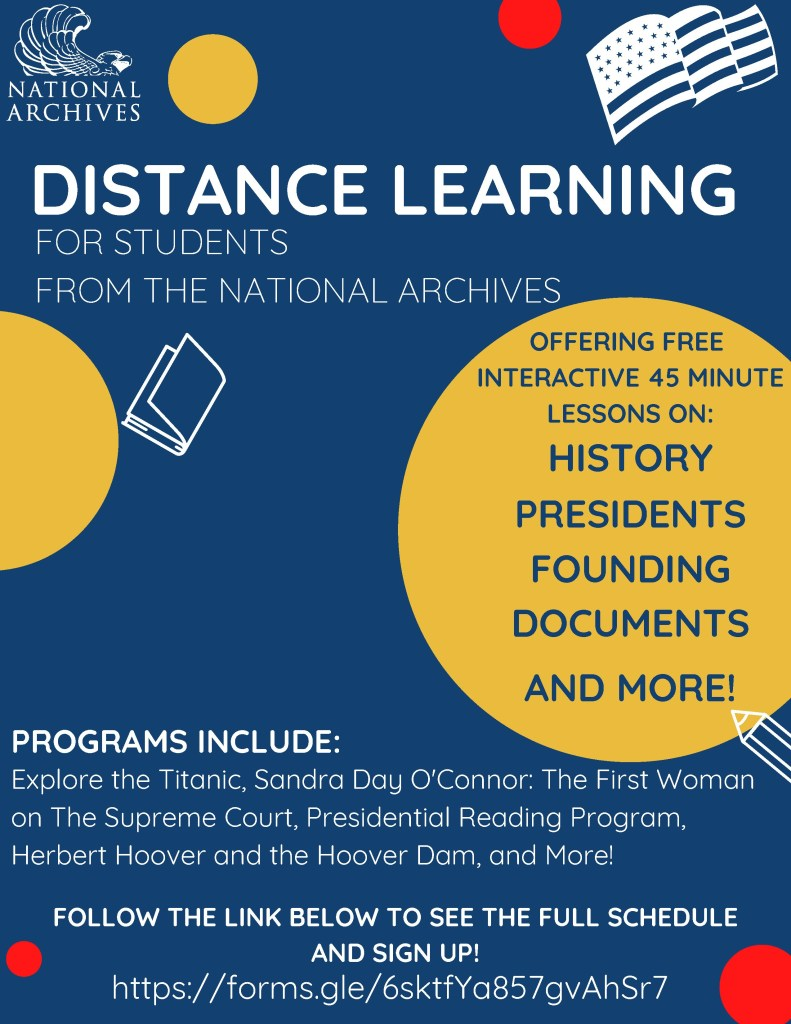 Distance Learning poster