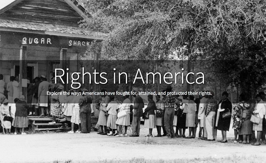 Rights in America graphic
