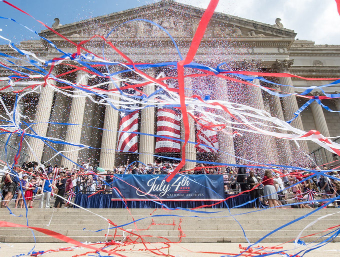 July 4 at National Archives