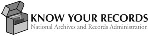 Know Your records logo