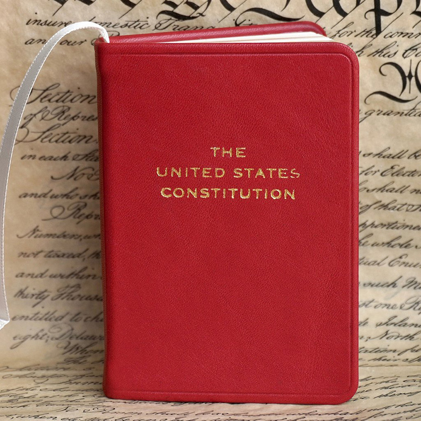 Bound copy of the US Constitution