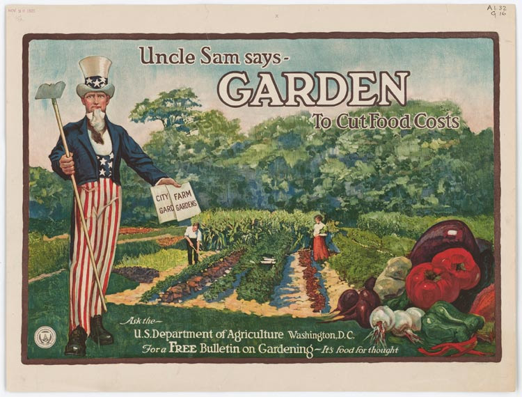 Uncle Sam food poster