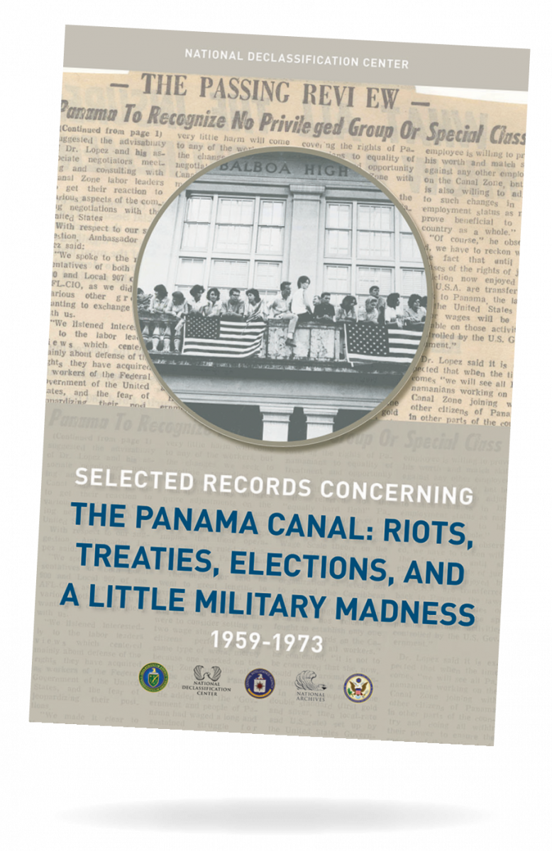 Selected records concerning the Panama Canal poster