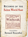 Records of Salem Witch-Hunt cover
