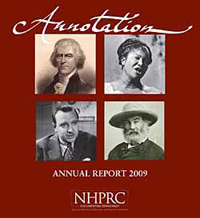 Annotation Annual Report 2009 for NHPRC