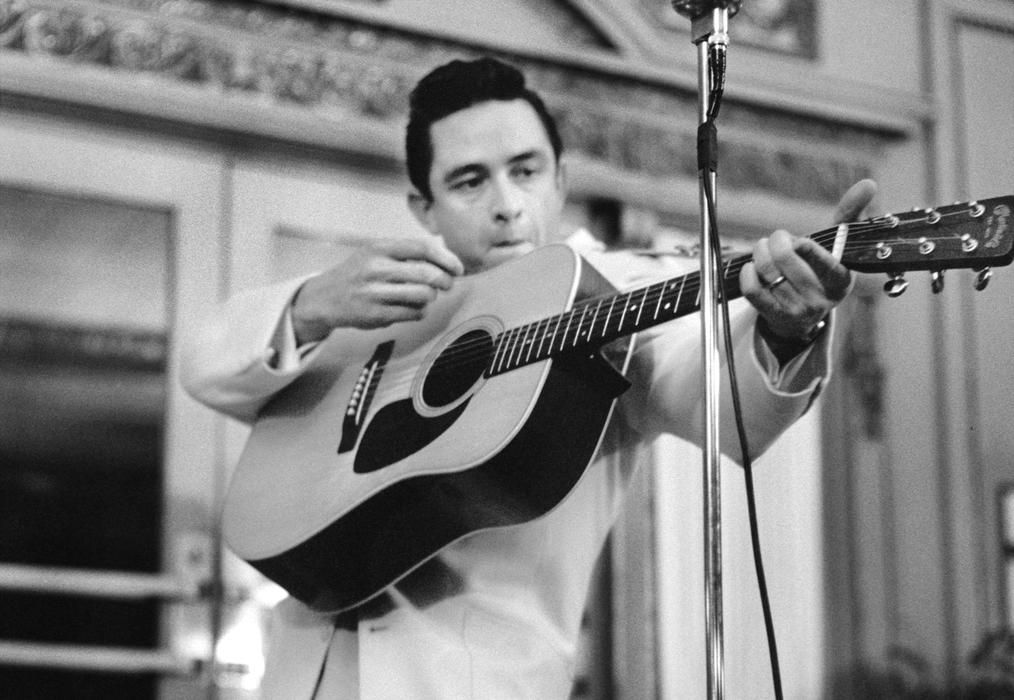 Rock and Roll icon Johnny Cash.
