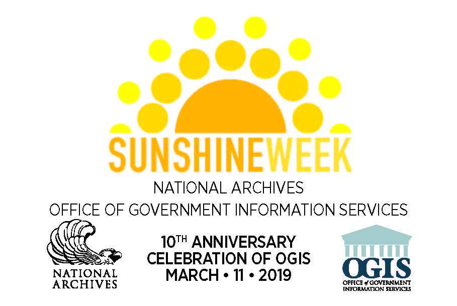 nara sunshine week 2019 logo