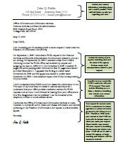 freedom of information act  request letter