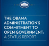 The Obama Administration's Commitment to Open Government: A Status Report