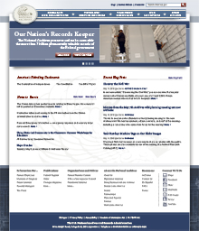 NARA website redesign proposal A