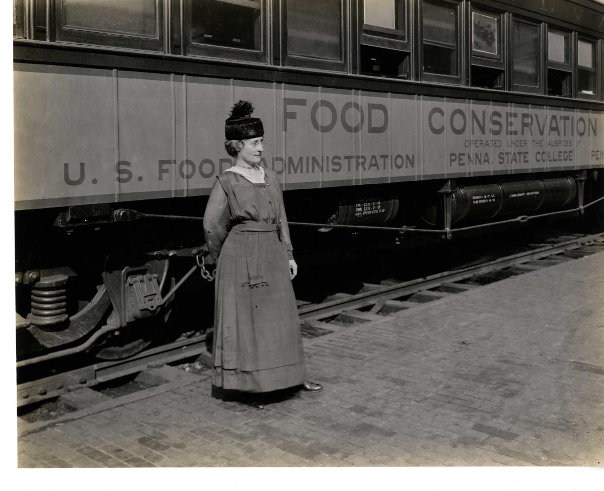 The U.S. Food Administration, Women, and the Great War: The Pennsylvania Food Conservation Train