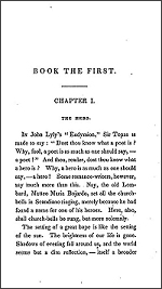 First Page of Longfellow's Hyperion