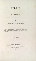 Title Page of Longfellow's Hyperion