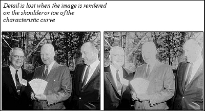 Loss of detail in photographs of Eisenhower