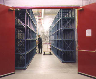 Entrance to individual storage facility