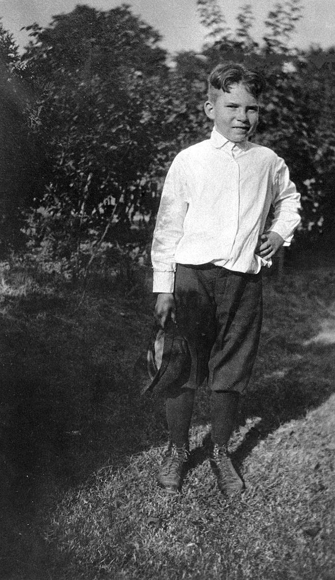 National Archives and Records Administration image: Nine-year old Richard Nixon in Yorba Linda, 1922. National Archives Identifier: 306-PSD-68-3769.
