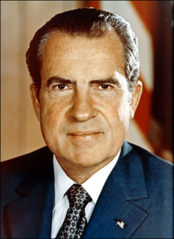 president richard nixon  richard nixon 1 the official picture of president nixon