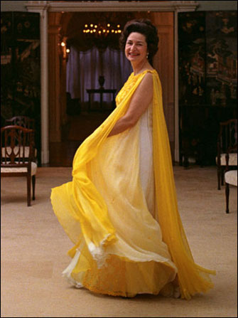 Portrait of Lady Bird Johnson at the White House, May 8, 1968.