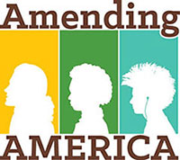 Amending America exhibit graphic