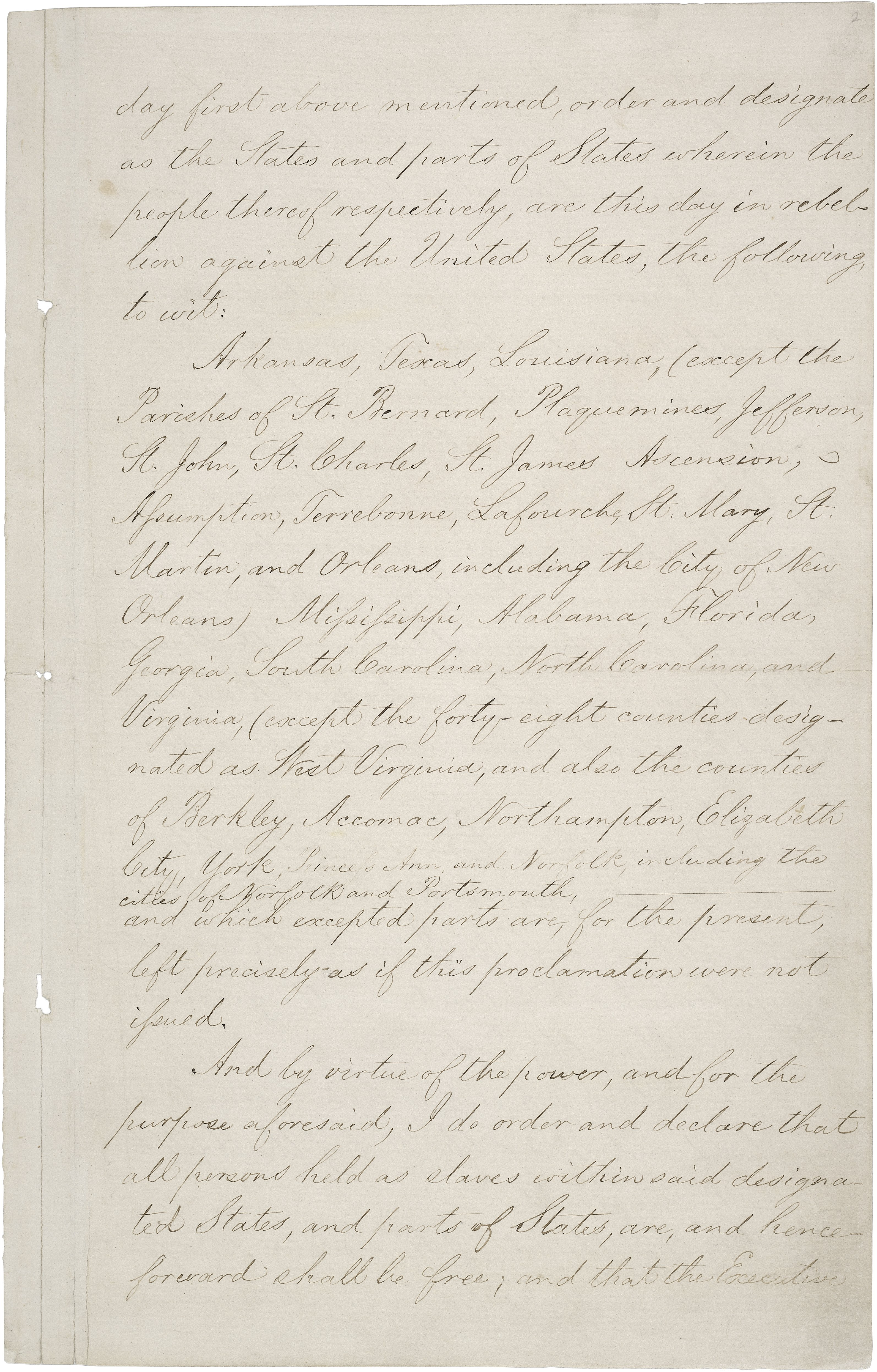 Press kits american originals national archives emancipation proclamation signed by president lincoln 1863 national archives and records administration for additional information on the emancipation publicscrutiny Images