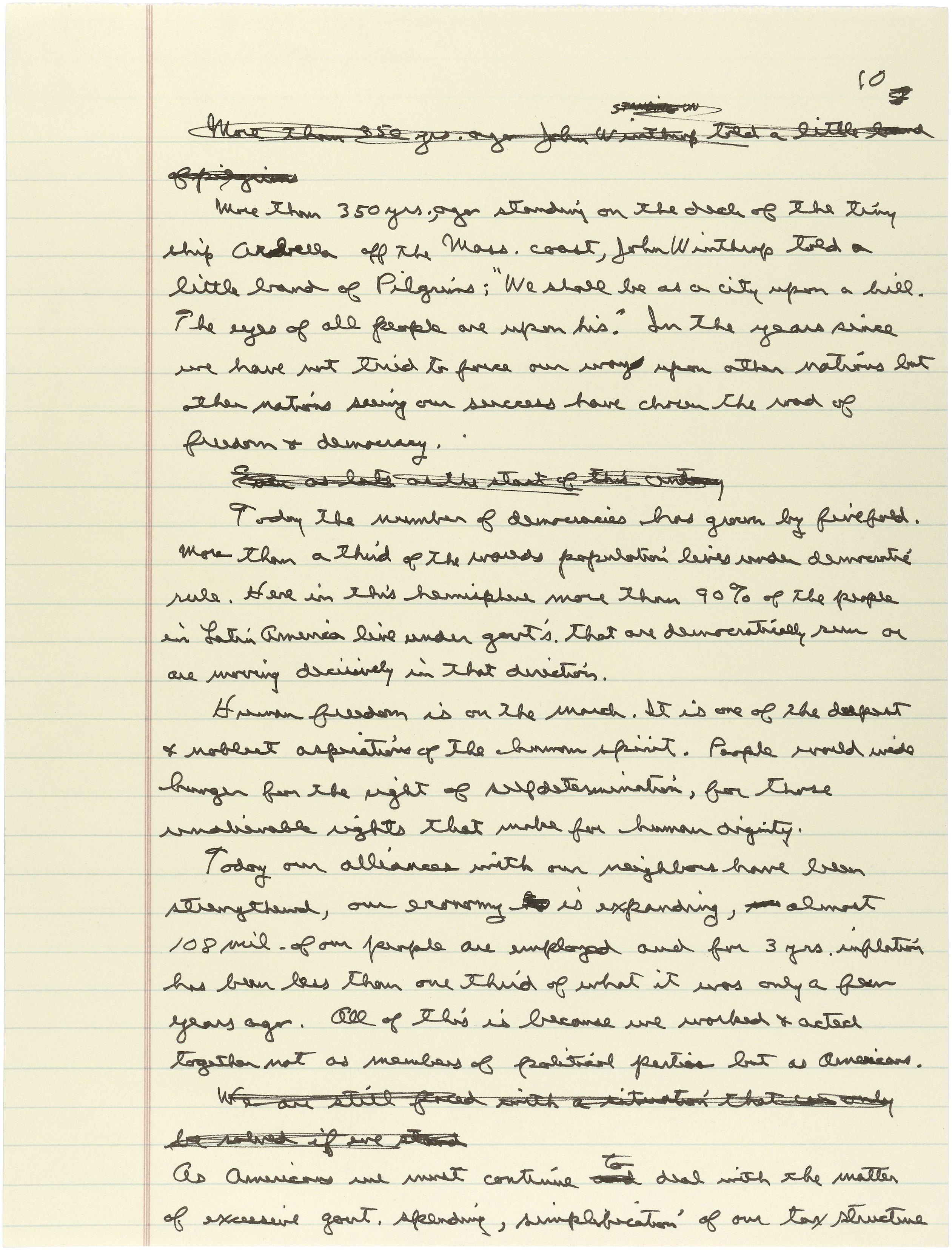 Reagan and cold war essay