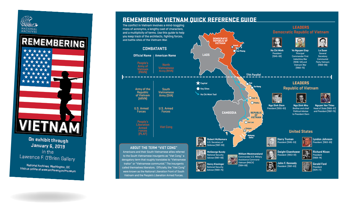 Remembering Vietnam brochure