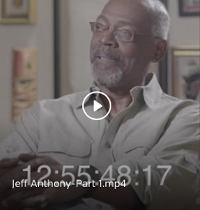Interview with Jeff C. Anthony, U.S. Marine Corps, 1967-1976