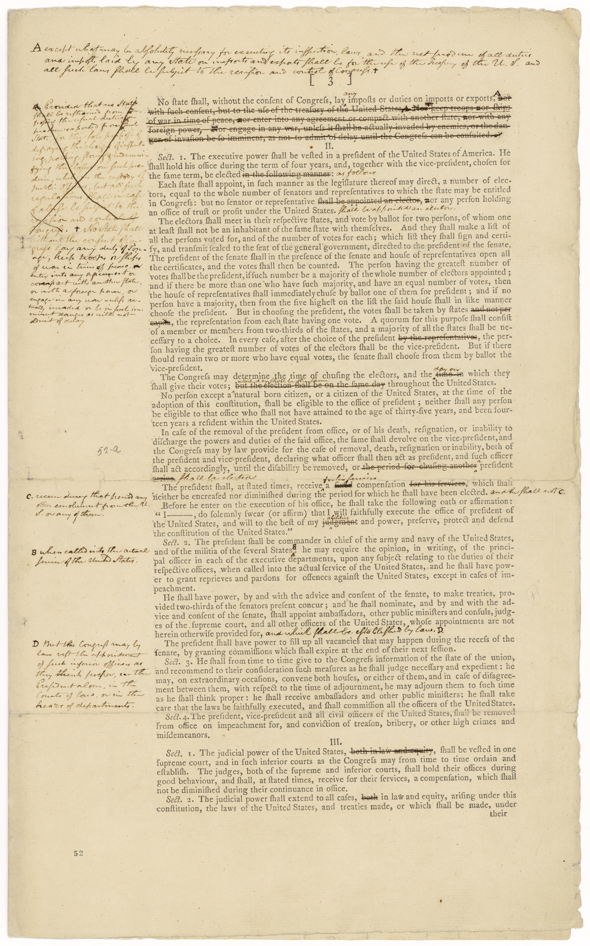 Inaugural Document Images National Archives