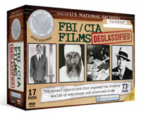 FBI/CIA Films: Declassified DVD cover