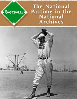 Cover of Baseball: The National Pastime in the National Archives eBook