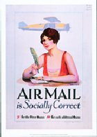 Air Mail Is Socially Correct
