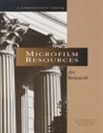 Microfilm Resources for Research cover