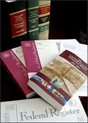 Federal Register publications