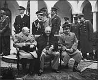 Big Three at Yalta