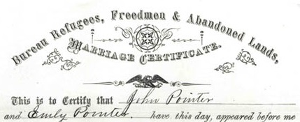 Pointer marriage certificate