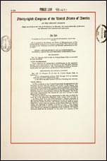 first page of NARA Act