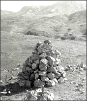 Mound of stones forming monument no. 16