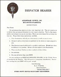 Instructions for Dispatch Bearers