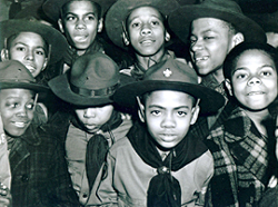 African American Boy Scouts