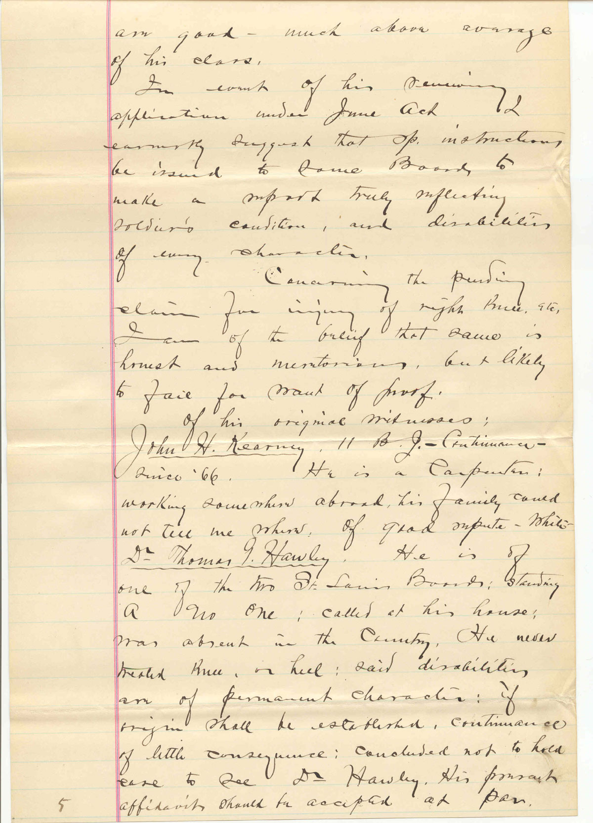 letter, page 3