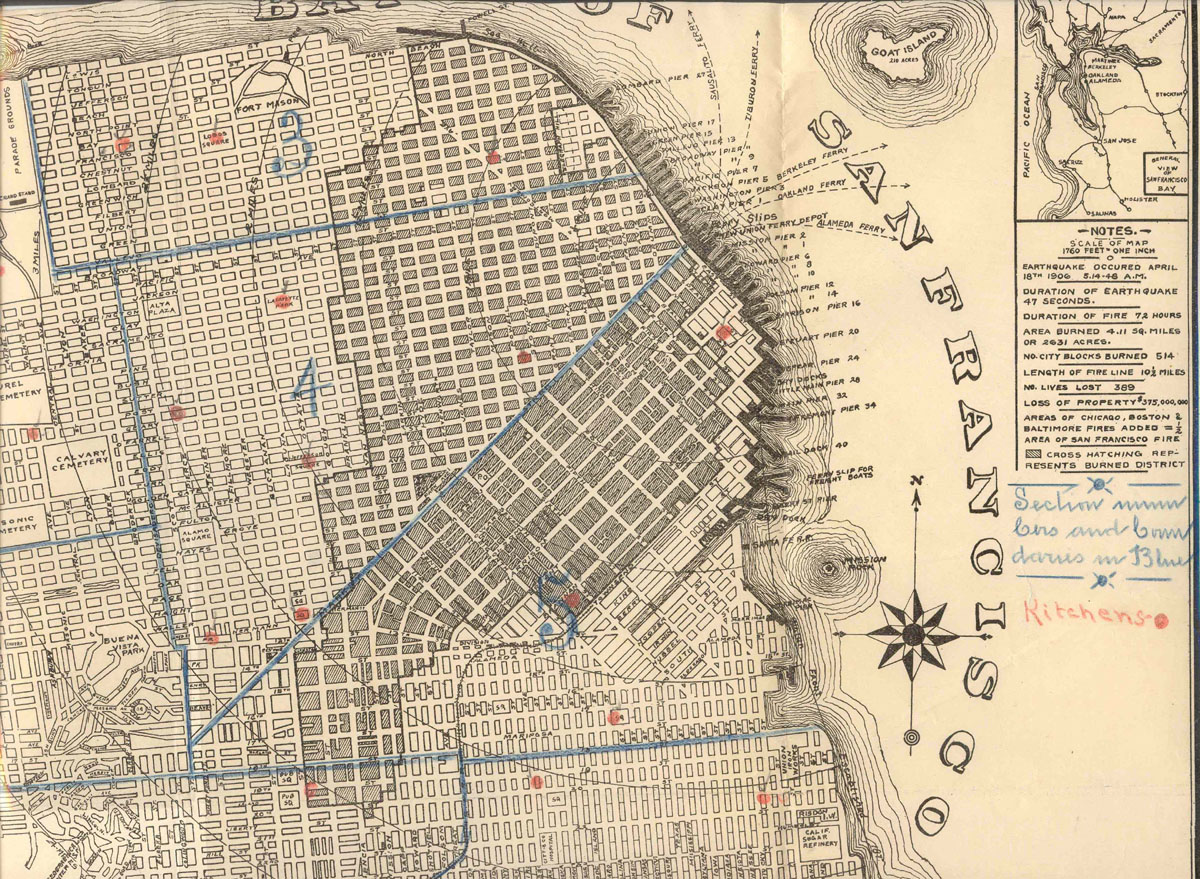When An American City Is Destroyed National Archives - Us navy flood map