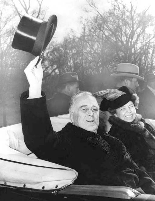 a new fdr emerges national archives franklin and eleanor roosevelt return to the white house after fdr was inaugurated for a third term on 20 1941 roosevelt library