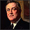 portrait of Franklin Roosevelt